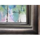 y11436 裝框裱褙相框系列-裱框成品參考-咖啡色框