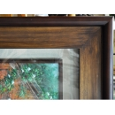 y11438 裝框裱褙相框系列-裱框成品參考-咖啡色框