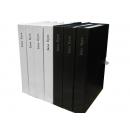 y11461 樣品書電視道具系列-厚書皮樣品書(Jane Eyre 黑.白)單本