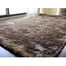 y11464 地毯.壁毯.踏毯-GLOIRA亮絲長毛毯-A6可可色(多種顏色尺寸可選