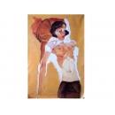 裸體人物-半裸-y11487-畫作系列-油畫-油畫人物