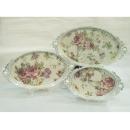 y11532 餐茶玻璃-餐具用品/配件-銀橢圓托盤(3入一組)