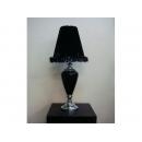 y11952 燈飾系列-桌燈-神秘黑影羽絨燈罩桌燈(黑、白兩款供選擇)