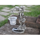 y11615 燭台蠟燭香氛系列 花仙子造形桌上型燭台
