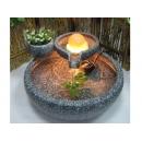 y11626 戶外庭園飾品系列 開運流泉 源源不絕滾球流水組
