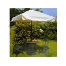 y11630 70cm玫瑰圓桌+7尺簡易鋁方傘+玫瑰花束椅(單)2張+6kgs玫瑰傘座