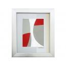 y11631 畫作系列 版畫 抽象風景 A框-精緻系列