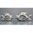 電鍍擺飾-銀金魚 / 一對 y11638 立體雕塑.擺飾 電鍍擺飾系列--無庫存