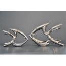 電鍍擺飾- 銀魚/ 一對 y11639 立體雕塑.擺飾 電鍍擺飾系列--無庫存