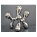 電鍍擺飾 - 銀擺飾 y11647 立體雕塑.擺飾 電鍍擺飾系列--無庫存