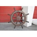 地中海.鄉村風系列-航海舵輪(小) y11670 立體雕塑.擺飾 立體擺飾系列-其他