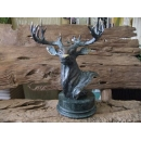 y11677 銅雕系列-動物-大鹿頭*