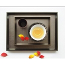 y11685 餐茶玻璃-餐具用品/配件-托盤(香檳色)(顏色.尺寸可訂製)