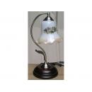 y11707 鄉村燈飾-鄉村玻璃花罩桌燈 5017-S(暫無庫存)
