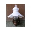 y11709 鄉村燈飾-鄉村玻璃花罩壁燈