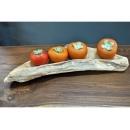 y11712 漂流木風化傢俱-檜木造型果缽