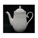 y11715 咖啡茶具-旋舞骨瓷花茶壺