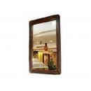 鐵刀木鏡 y11723 時鐘.溫度計.鏡子 鏡子 鐵刀木鏡