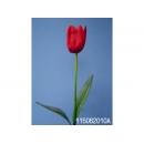y11730 花藝設計-精緻人造花-大鬱金香 紅/枝 (共7色)