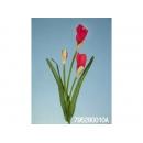 y11733 花藝設計-精緻人造花-小雞蛋花 紅 (共6色)
