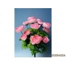 y11765 花藝設計-精緻人造花-波斯陸蓮花束 粉紅(共5色)