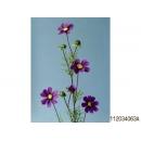 y15237 花藝設計-精緻人造花-手捲波斯菊 紫 (共6色)