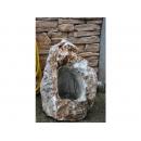 y11767 庭園飾品系列 - 擺飾系列 - 彩玉石一體成型水景組(自取價)