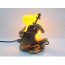 y11773 燈飾系列-桌燈-青蛙樂器燈.大提琴(小提琴.風琴)---已絕版.無庫存