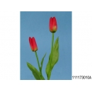y11793 花藝設計-精緻人造花-甜心鬱金香 紅(共10色)