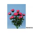 y11802 花藝設計-精緻人造花-雞蛋花束 紅(共9色)