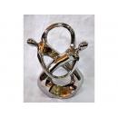 銀擺飾 (雙人環繞) y11829 立體雕塑.擺飾 電鍍擺飾系列