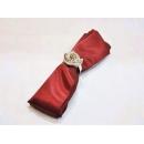 y11833 餐茶玻璃-餐具用品/配件-餐巾.紅(皺紅.銀白)