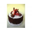 y11868 花藝設計-水果、餅乾、蛋糕配件類-甜心巧克力蛋糕