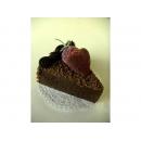 y11869 花藝設計-水果、餅乾、蛋糕配件類-甜心三角巧克力蛋糕