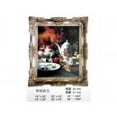 y11932 裝框裱褙相框-雕刻框-實木雕刻空框-5