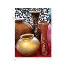 y11935 花器系列-玻璃花器-西班牙進口花瓶 紅