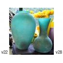y11936 花器系列-玻璃花器-西班牙進口花瓶 綠