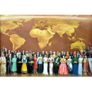 人物-世界送財-y11942 畫作系列-油畫