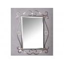 鐵材長方掛鏡 y11953 時鐘.溫度計.鏡子 鏡子
