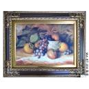 義大利絲畫-靜物 (三款-y11959 畫作系列-含框:80x98cm 圖心:50x70cm)