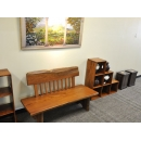 y11963 傢俱系列-原木靠背椅