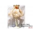 y11983 燈飾系列-桌燈-玫瑰白色桌燈