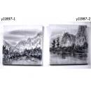 油畫山水/對-y11987 畫作系列