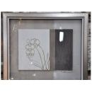 y12013 裝框裱褙相框系列-裱框成品參考-銀箔框