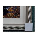 y12015 裝框裱褙相框系列-裱框成品參考-銀色框