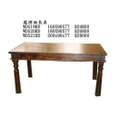 y12038傢俱系列-印度傢俱-處理面長桌