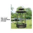 y12047 杉木 花盆架造景系列