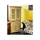 y12067 傢俱系列-印度傢俱-刷白老鐵飾雙門櫃