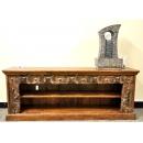 y12068 傢俱系列-印度傢俱-雙層老雕鞋櫃