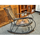 y12074 傢俱系列-印度傢俱-單人扶手搖椅